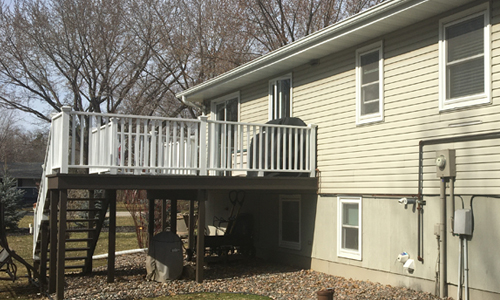 deck repairs and installation in Jim Falls, WI